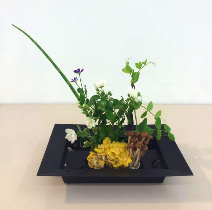 食べられる生け花